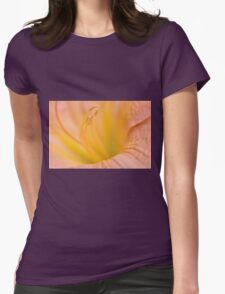 Pink Daylilly, As Is Womens Fitted T-Shirt