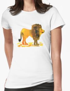 Cecil the Lion Womens Fitted T-Shirt
