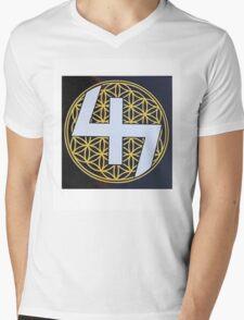 capital steez Mens V-Neck T-Shirt