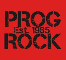 Prog Rock Est. 1965 by heliconista
