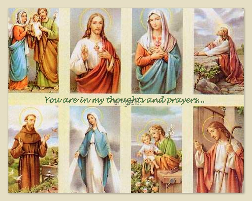 You are in my thoughts and prayers featured in Reaching Out: A Christian Mission by ©The Creative  Minds