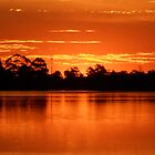 Collie River Sunset by AndrewBentley