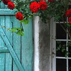 Les Portes-en-R - Roses au volet. by Jean-Luc Rollier