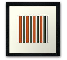 Bowie Stripe Framed Print
