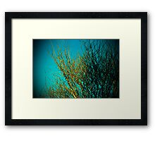 branches all ordinary and special Framed Print