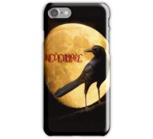 Quoth the Raven... iPhone Case/Skin
