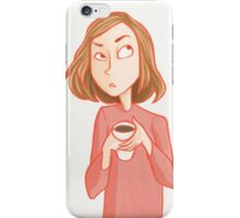 Cranky Mornings iPhone Case/Skin