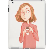 Cranky Mornings iPad Case/Skin