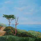 Tree at Island Golf Club by Geraldine M Leahy