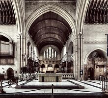 Christ Church Cathedral - Newcastle, NSW - I by Jeff Catford