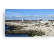 Peggy's Cove, NS Canvas Print