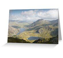 Snowdonia National Park, Wales Greeting Card