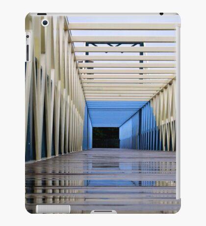 Minneapolis, MN: Footbridge over I-94 iPad Case/Skin