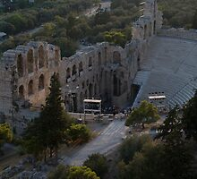 The Odeon of Herod Atticus by Mark Prior