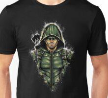 Green Hooded Hero Unisex T-Shirt
