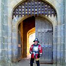 Roundhead Soldier at Castle Gate by hootonles