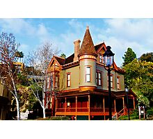Victorian Home Photographic Print