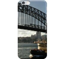 as the lady herron cuts its way to circular quay iPhone Case/Skin
