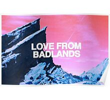 Love From Badlands Halsey Poster