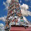 Sri Mariamman Temple (2) by Adri  Padmos