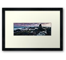 Pulpit Rock Panorama Framed Print