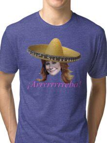 ¡Arrrrrrreba! Tri-blend T-Shirt