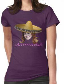 ¡Arrrrrrreba! Womens Fitted T-Shirt