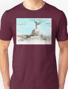 Daily Doodle 28- En Plein Air - Jacksonville Memorial Park Unisex T-Shirt