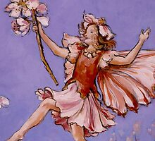 Apple Blossom Fairy by Elizabeth Moore Golding