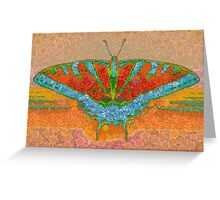 BUTTERFLY WINGS KISS THE SUN Greeting Card