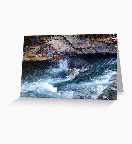 Rapids, Cameron Creek Greeting Card