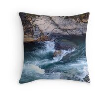 Rapids, Cameron Creek Throw Pillow