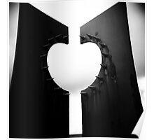 Apple Heart Poster