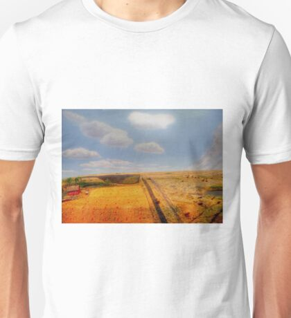 EARLY PIONEER LIFE ON THE PRAIRIES Unisex T-Shirt