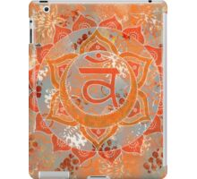 Second Chakra Mandala iPad Case/Skin
