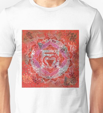 First Chakra Mandala Unisex T-Shirt