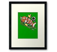 Sushikarp Framed Print