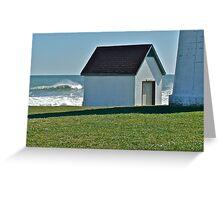 Hurricane Igor - Point Judith - Rhode Island *featured Greeting Card