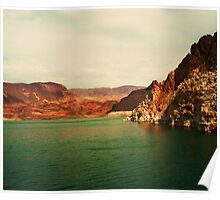 Lake Mead, Nevada USA Poster