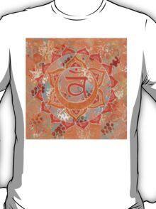 Second Chakra Mandala T-Shirt