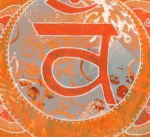 Second Chakra Mandala Sticker