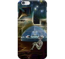 Do aliens get lonely as the lights begin to fade? iPhone Case/Skin