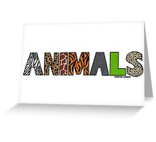 Animals Greeting Card