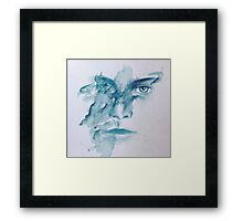 The other dripping girl  Framed Print