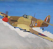 Hawker Hurricane Mk.IV by Olive Denyer