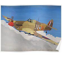 Hawker Hurricane Mk.IV Poster