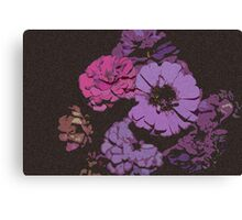 Spotted Flowers Canvas Print