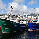 Killybegs Trawlers by Orla Flanagan
