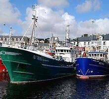 Killybegs Trawlers by Orla Flanagan