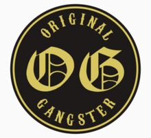 O.G. Original Gangster by onitees